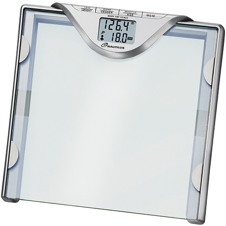 Nautilus® Glass Body Fat Scale