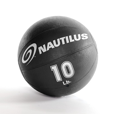 Nautilus® 10 lb. Medicine Ball