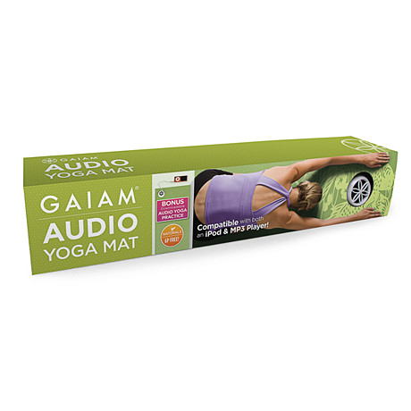 Gaiam® Audio Yoga Mat