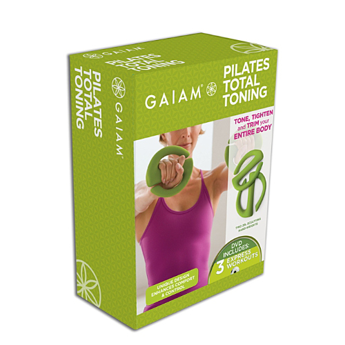 Gaiam's Pilates Total Toning Set