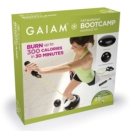 Gaiam's Fat Burning BootCamp Kit Bowflex Catalog