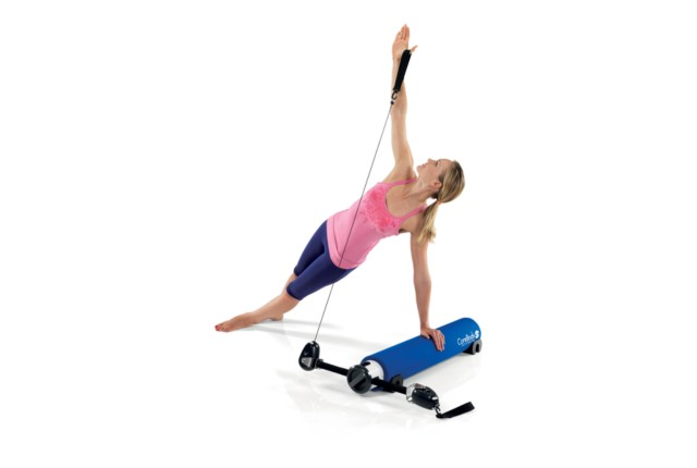 Plank Exercise Using a CoreBody Reformer