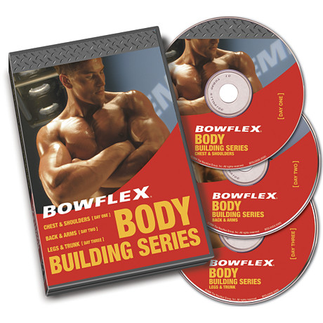Bowflex Bodybuilding Workout Video Set Bowflex Catalog