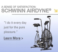 A sense of satisfaction - Schwinn Airdyne®