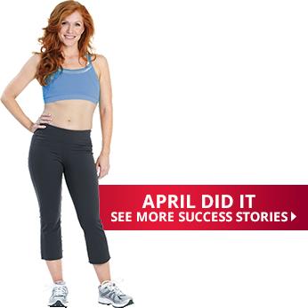 April Found Success