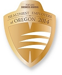 Portland Business Journal Healthiest Employers of Oregon 2014