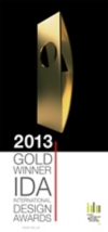 International Design Awards 2013 - Gold Winner