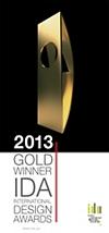 International Design Awards 2013 - Gold Winner