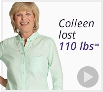 Colleen lost 110 pounds