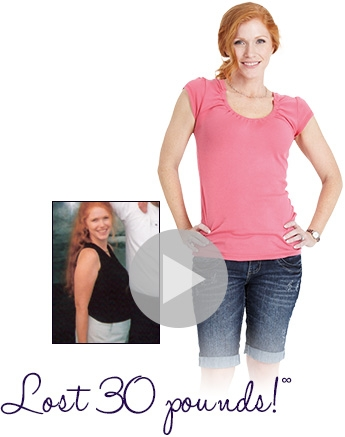 April lost 30 pounds
