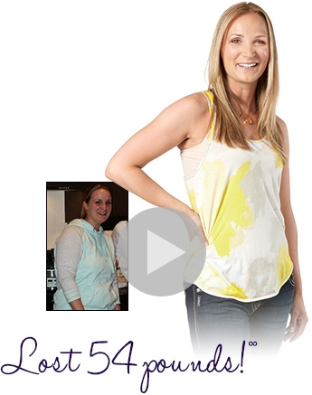 Bobbi lost 54 pounds