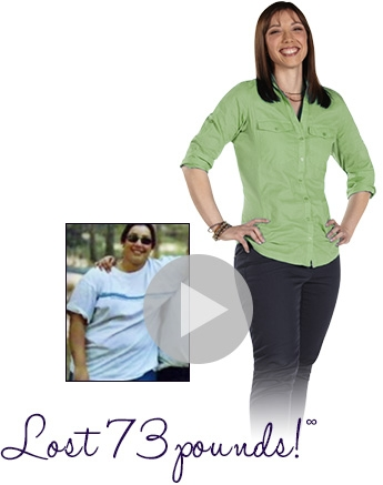 Danielle lost 73 pounds