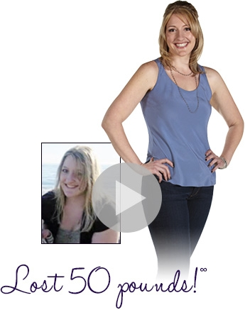 Jennifer lost 50 pounds