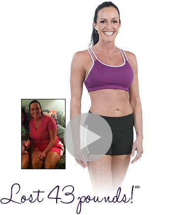 Lisa lost 43 pounds