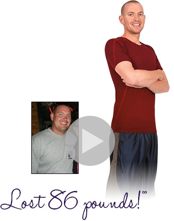 Ryan lost 85 pounds with a TreadClimber