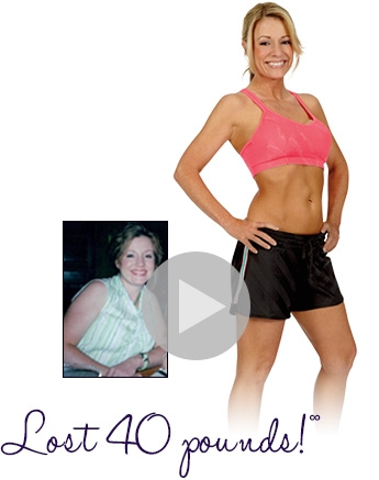 Shelly lost 40 pounds with a TreadClimber
