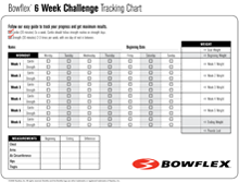 Alfa img - Showing > Bowflex Xtreme Workout Chart