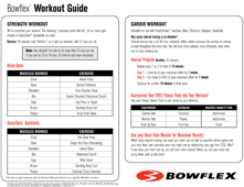 The Bowflex® Workout Guide