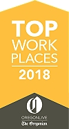 Top Work Places 2018 - The Oregonian.