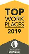 Top Work Places 2019 - The Oregonian.