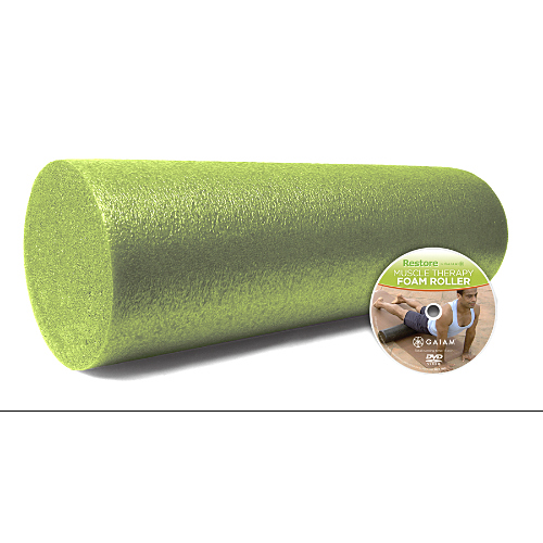 Gaiam Stretch Strength Foam Roller Kit